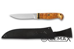 Knife Finnish-2 (ATS-34, stabilized Karelian birch)
