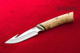 Skinner knife (X12MF, Karelian birch)