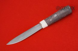 Yakut knife (Bulat, stabilized Karelian birch)