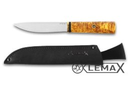 Yakut knife (ATS-34, stabilized Karelian birch)