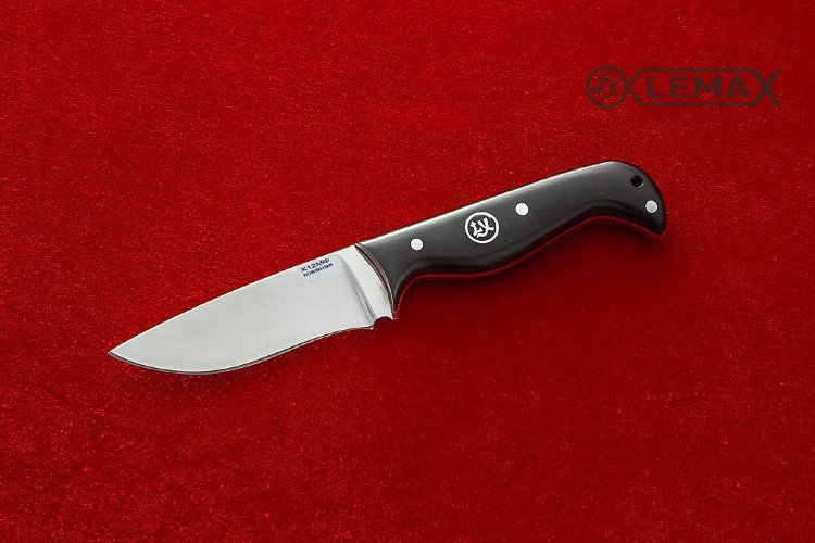 Sparrow knife (all-Metal, X12MF, black hornbeam)