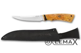 Knife Rybak-2 (ATS-34, stabilized Karelian birch)