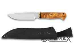 Knife Predator (ATS-34, stabilized Karelian birch)