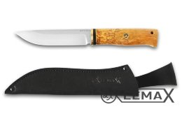 Knife Ural (ATS-34, stabilized Karelian birch)